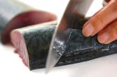 サバのキムチ煮の作り方1