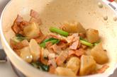ちぎりコンニャクの炒め物の作り方2