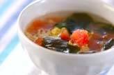トマトの卵スープ