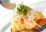 ハモのベニエ・野菜のマリネ添えの作り方8
