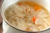 やわらか小芋の豚汁の作り方1