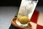 ジンジャー梅酒ソーダ