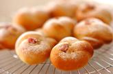 甘酒桜パンの作り方8
