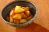揚げジャガイモの甘辛煮