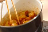 揚げジャガイモの甘辛煮の作り方2