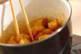 揚げジャガイモの甘辛煮の作り方3