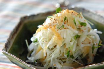 大根とクラゲのサラダ