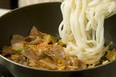 豚キムチ焼うどんの作り方3