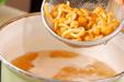 卵とナメコのとろみ汁の作り方1