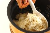 麦トロご飯・温卵のっけの作り方3