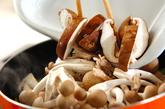 炒めキノコのマリネの作り方1
