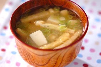 ほっとする味 定番豆腐の味噌汁