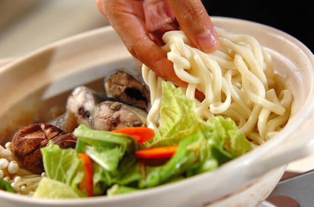 サンマ鍋の作り方の手順11
