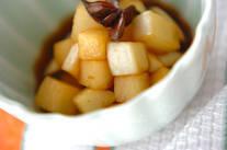 カリカリ大根の中華味