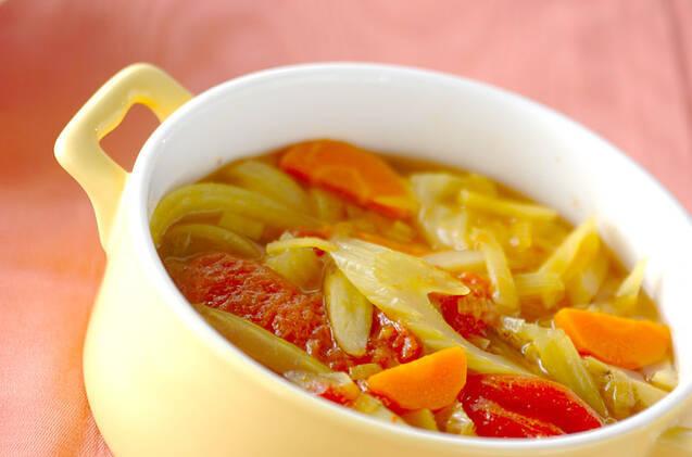 カレー風味野菜煮