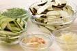 ナスのサッと漬けの作り方の手順1