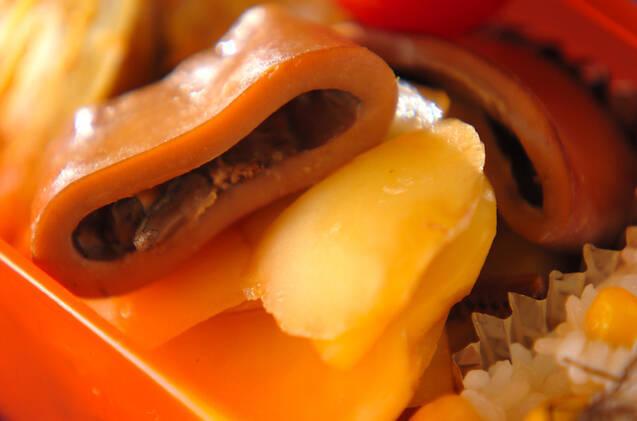 イカ缶とジャガイモの煮物