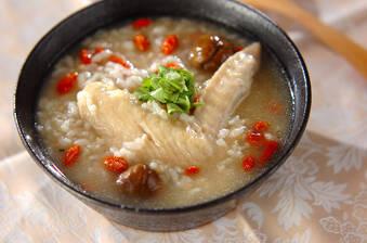 サムゲタン風鶏粥