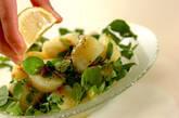 クレソンと新ジャガのサラダの作り方3