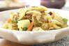 春キャベツのカレー炒めの作り方の手順