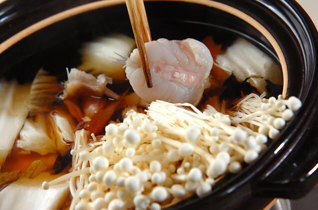 あったかアンコウ鍋の作り方の手順11