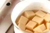 高野豆腐の煮物の作り方7