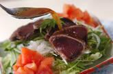 カツオのサラダの作り方8
