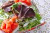 カツオのサラダの作り方の手順