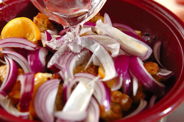 モロッコ風レモンチキンの作り方の手順5