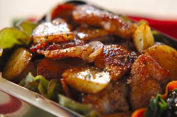 豚肉の甜麺醤炒め