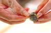 白玉団子のショウガシロップがけの作り方の手順1
