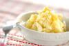 ジャガと卵のユズ風味サラダ