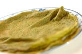 抹茶のアイスクレープの作り方8