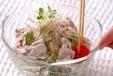 茶そば豚しゃぶサラダの作り方9