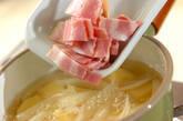 ジャガベーコン煮の作り方1