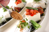 お豆腐のサラダの作り方2