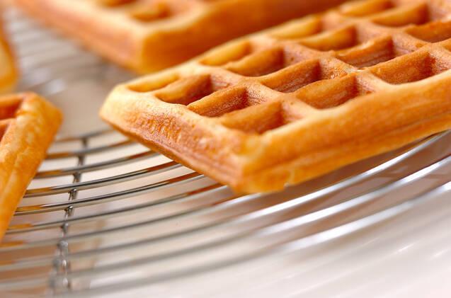 イチゴミルクワッフルの作り方の手順9