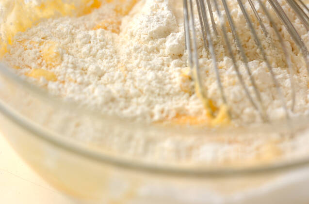 イチゴミルクワッフルの作り方の手順6