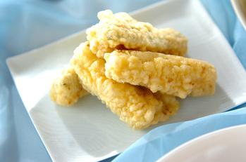 クミン風味ズッキーニの天ぷら