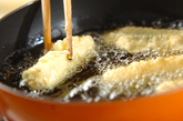 クミン風味ズッキーニの天ぷらの作り方1