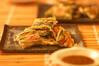 イカとエビのチヂミの作り方の手順