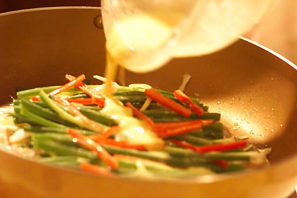 イカとエビのチヂミの作り方の手順6