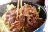 豚肉のショウガ炒め蒸しの作り方2
