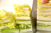 モヤシの甘酢炒めの下準備2