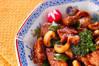 豚肉の炒め物の作り方の手順