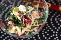 大和芋入り海藻サラダ