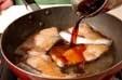 さっぱりブリの照り焼きの作り方2