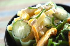 マカロニのサラダ