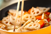 カブとカキの中華炒めの作り方3