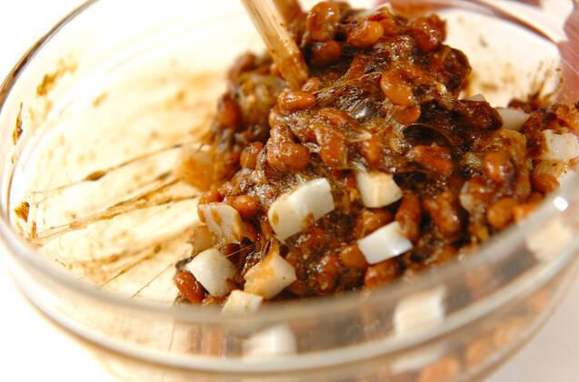 のり納豆とアボカドのご飯の作り方の手順2